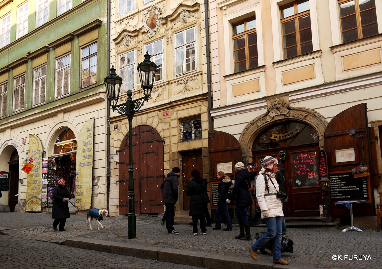 プラハ 11   ネルドヴァ通り _a0092659_1904021.jpg