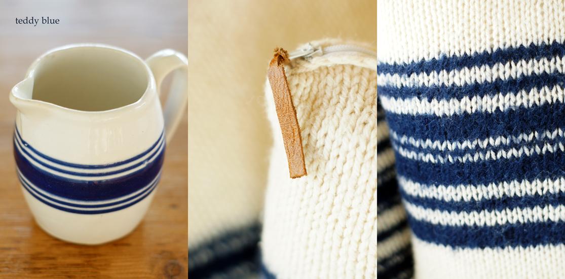 hand knitted cushions  ハンドニットのクッション_e0253364_1018599.jpg