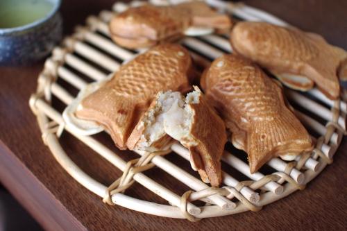 キシノウエン産シラネ全粒粉で、たい焼きパーティー_c0110869_817914.jpg