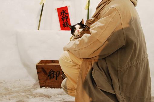 小岩井農場雪祭り_b0259218_1135465.jpg