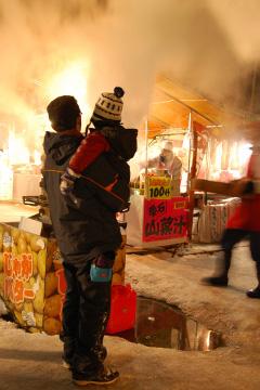 小岩井農場雪祭り_b0259218_1142042.jpg
