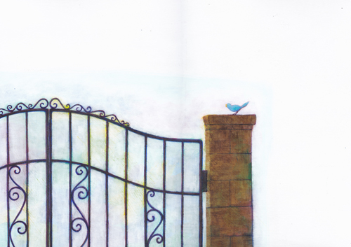 Illustrations - 新美南吉「去年の木」より_e0221333_0491729.jpg