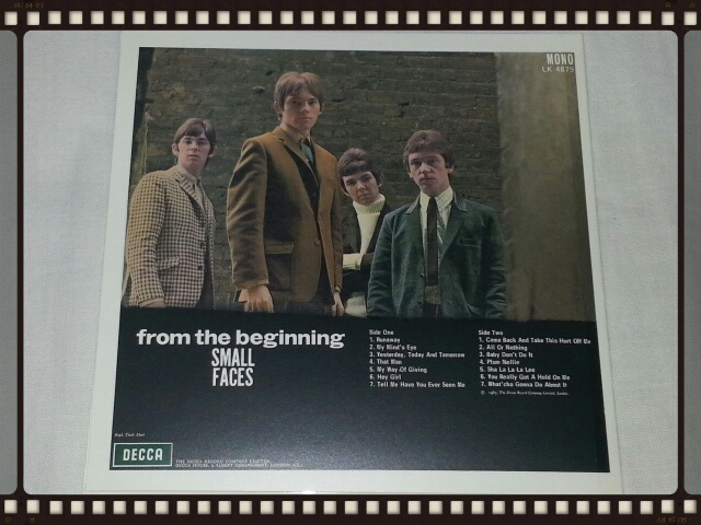 SMALL FACES / FROM THE BEGINNING (紙ジャケ)_b0042308_22283687.jpg