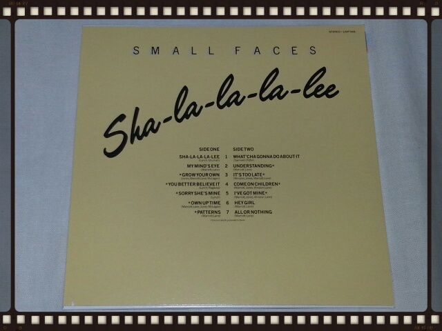 SMALL FACES / FROM THE BEGINNING (紙ジャケ)_b0042308_2233611.jpg