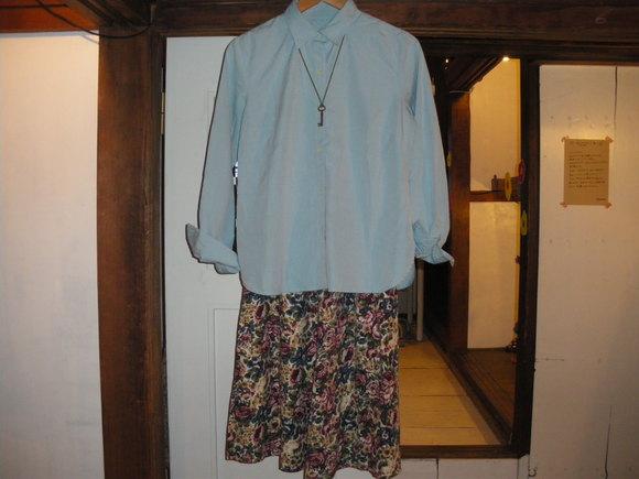 デニムサロペットと、スカート追加。_d0256914_0433616.jpg