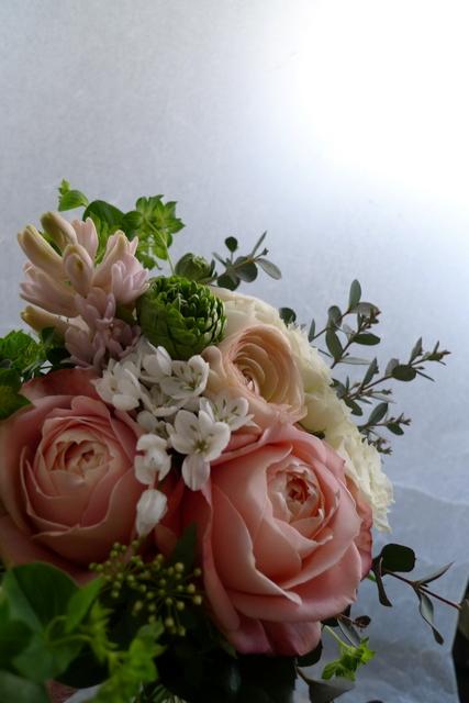小さめのお誕生日花束。_b0171193_2114391.jpg