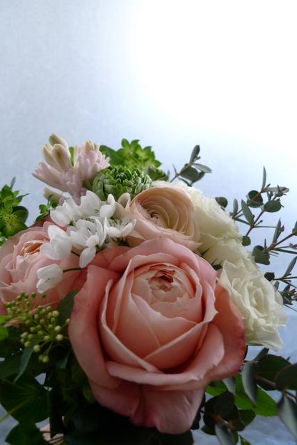 小さめのお誕生日花束。_b0171193_2114514.jpg
