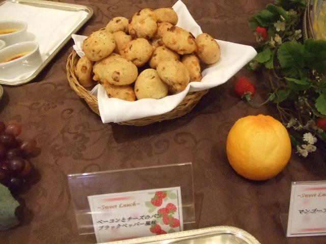 ホテルオークラ東京ベイ テラス スイートランチ~いちご祭り~_f0076001_2011299.jpg