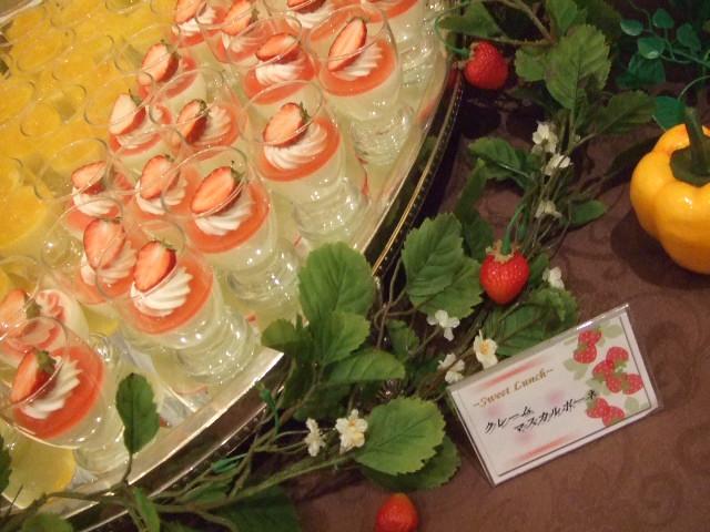 ホテルオークラ東京ベイ テラス スイートランチ~いちご祭り~_f0076001_20114775.jpg