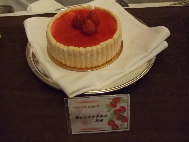 ホテルオークラ東京ベイ テラス スイートランチ~いちご祭り~_f0076001_2094243.jpg