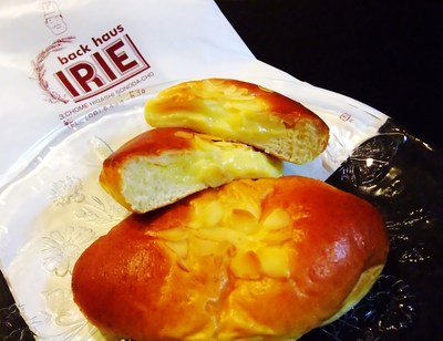 バックハウス・イリエのクリームパン!_a0161408_1739154.jpg