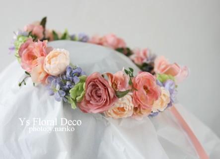 春色のブーケとフラワーアクセサリー ルシェルブラン表参道さんのおふたりに_b0113510_0303830.jpg