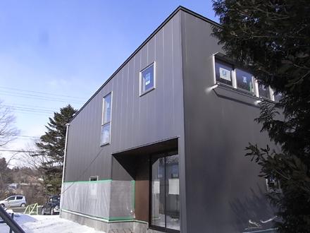 『小和滝の家』 外観現る!_e0197748_21141648.jpg