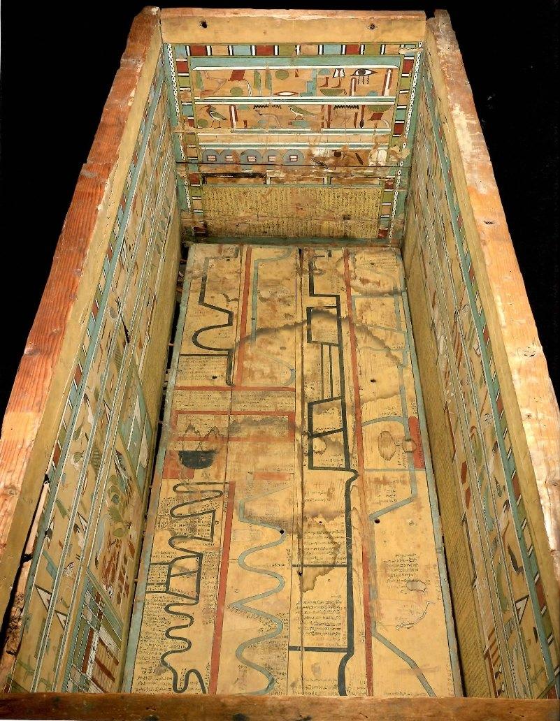 古代エジプト展 第1章 古代エジプトの死生観 呪文の変遷-(1)_c0011649_1574830.jpg