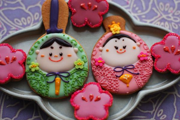 おひなさまのアイシングクッキー_f0149855_14511849.jpg