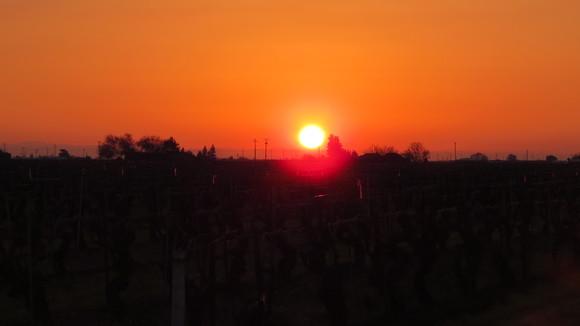 130221 ルート99号線、地平線に沈む真っ赤な太陽_d0288367_11124834.jpg