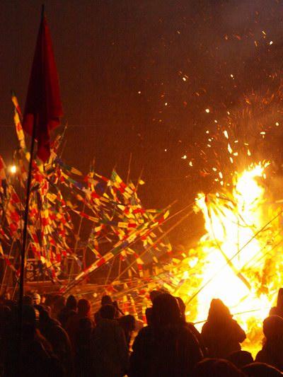秋田の冬祭り~六郷の竹打ち_a0062869_16513017.jpg