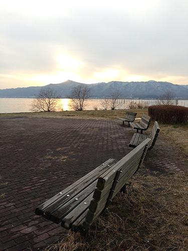 冬の琵琶湖と観覧車_f0023482_5256100.jpg