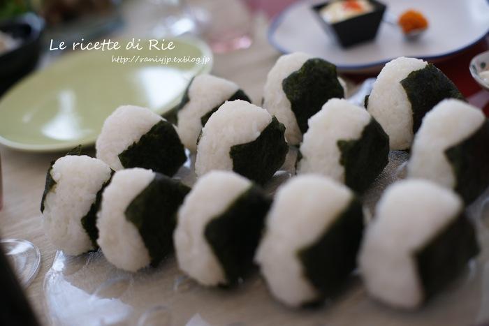 日本食パーティー♪ Festa giapponese_b0246303_626023.jpg