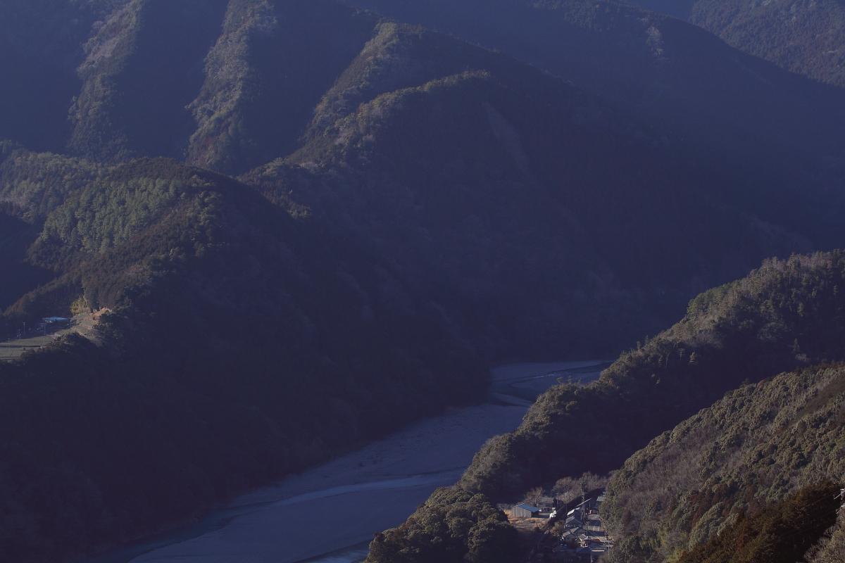山間の白煙 - 2013年冬・大井川 -  _b0190710_22142550.jpg