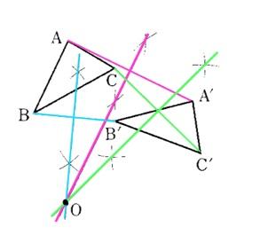 中学1年生の3学期の期末テスト問題(数学の作図の問題)_e0192724_13531487.jpg