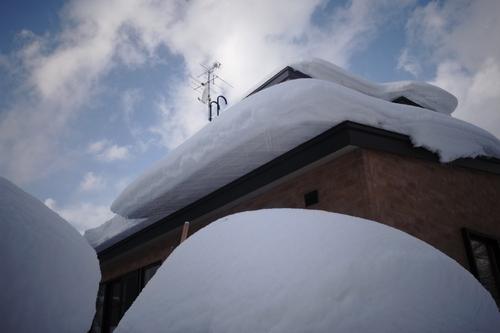 今日は3回だけ雪はね。_c0051132_2121317.jpg