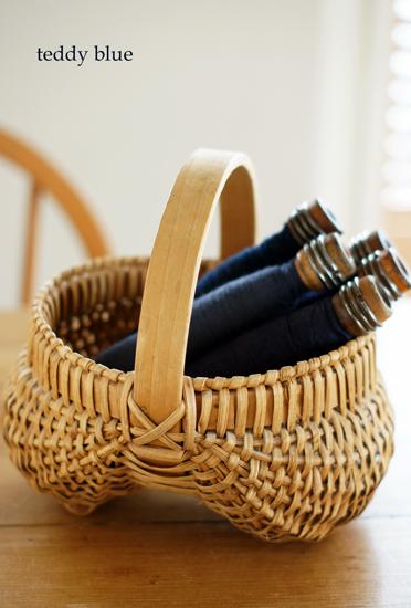 antique buttoks basket  アンティーク バトックス バスケット_e0253364_14185575.jpg