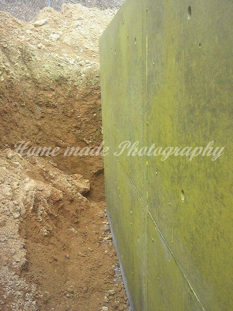 防水塗装工事(深基礎)_c0108065_15274235.jpg