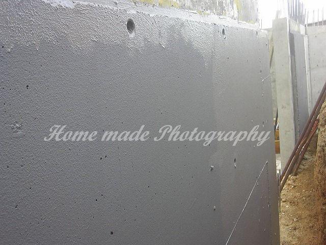 防水塗装工事(深基礎)_c0108065_15325893.jpg