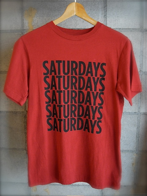 SATURDAYS SURF NYC - T-shirt selection!!_f0020773_20163427.jpg