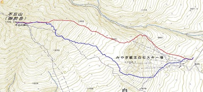 朝駆けで登る南蔵王不忘山 ~ 2013年2月18日_f0170180_1272785.jpg