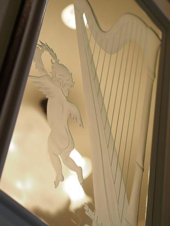 【こちらも…】天使のドア。の、天使(Myコレクション)_a0254818_1446066.jpg