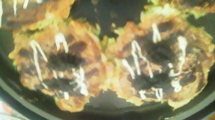 お好み焼きに生海苔_e0184224_15445244.jpg