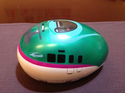 新幹線貯金箱 E5系はやぶさ_f0259324_9355332.jpg