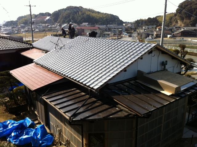 屋根・外壁・他 塗装工事 T邸 参考施工価格:¥110万-_e0268569_1173919.jpg