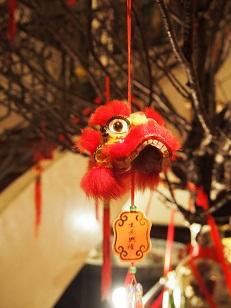 China Clubの旧正月のデコレーション_d0088196_1103551.jpg
