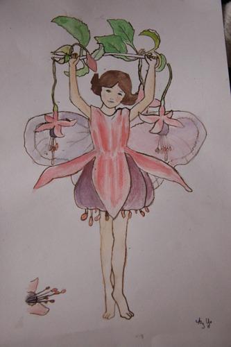 ユキちゃん作「妖精」(模写)_f0106597_20403794.jpg