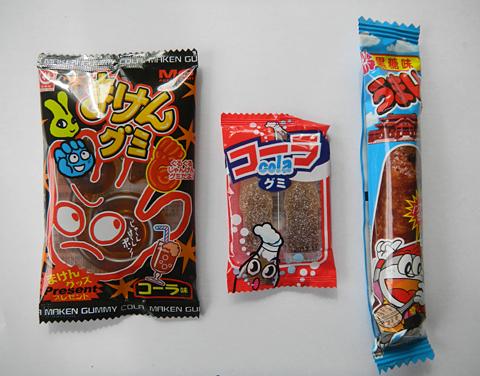 こどもと魚介とネーミング 「揚げ柳」「酢だこさん太郎」「ご縁チョコ」駄菓子今昔_c0069903_6314875.jpg