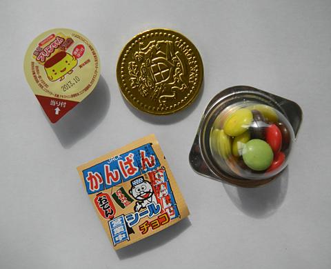 こどもと魚介とネーミング 「揚げ柳」「酢だこさん太郎」「ご縁チョコ」駄菓子今昔_c0069903_637570.jpg