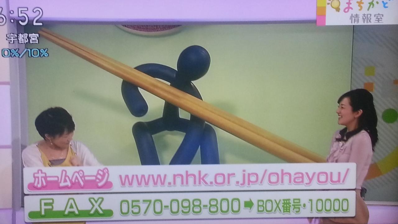 突っ込みの鈴木アナ? NHKおはよう日本 まちかど情報室_b0042308_0593613.jpg