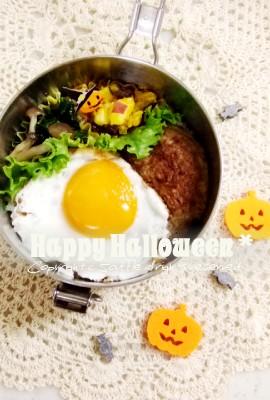 ロコモコ丼弁当_c0270834_13103264.jpg