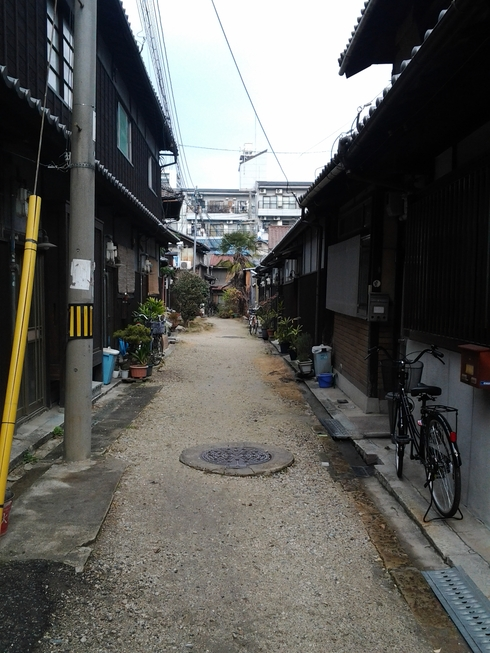 SAORI豊崎長屋までの道のり_b0169541_17405535.jpg