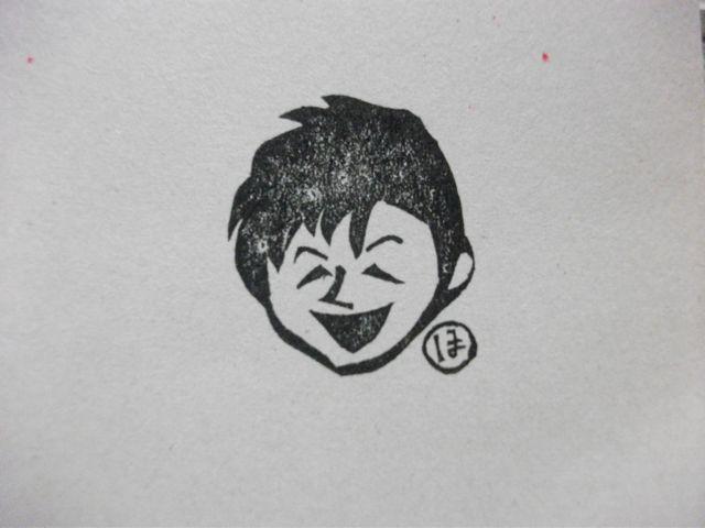 オーダーメイド「アヒル持ち手似顔絵」_f0177745_4433642.jpg