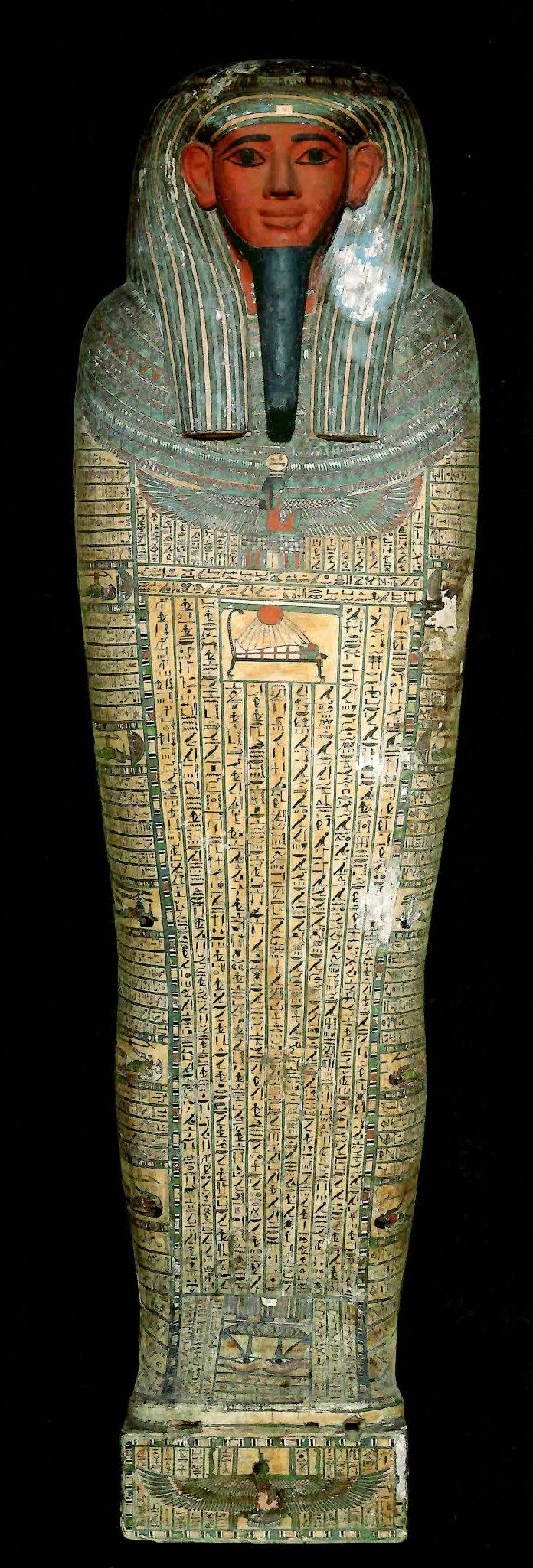 古代エジプト展 第1章 古代エジプトの死生観 呪文の変遷-(2)_c0011649_0244583.jpg