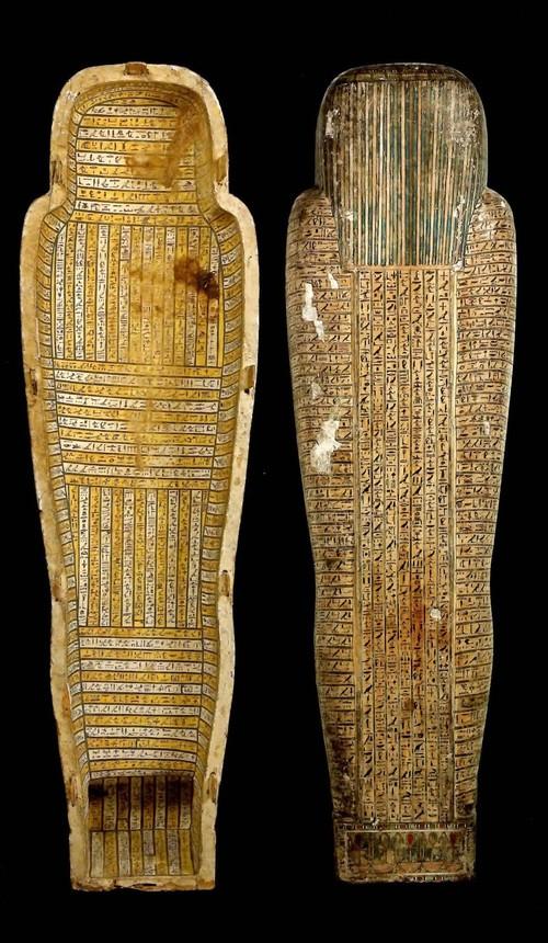 古代エジプト展 第1章 古代エジプトの死生観 呪文の変遷-(2)_c0011649_026173.jpg