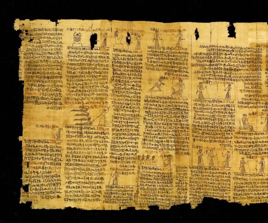 古代エジプト展 第1章 古代エジプトの死生観 呪文の変遷-(3)_c0011649_232455100.jpg