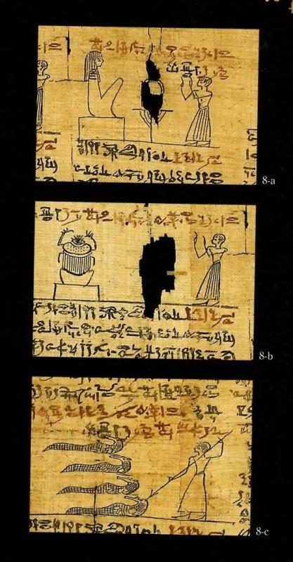 古代エジプト展 第1章 古代エジプトの死生観 呪文の変遷-(3)_c0011649_232642100.jpg