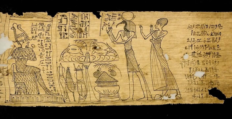 古代エジプト展 第1章 古代エジプトの死生観 呪文の変遷-(3)_c0011649_2331115.jpg