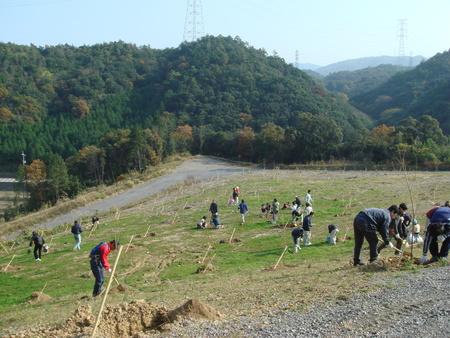 「桜の記念植樹」 in 岬町多奈川地区多目的公園_c0108460_13024.jpg