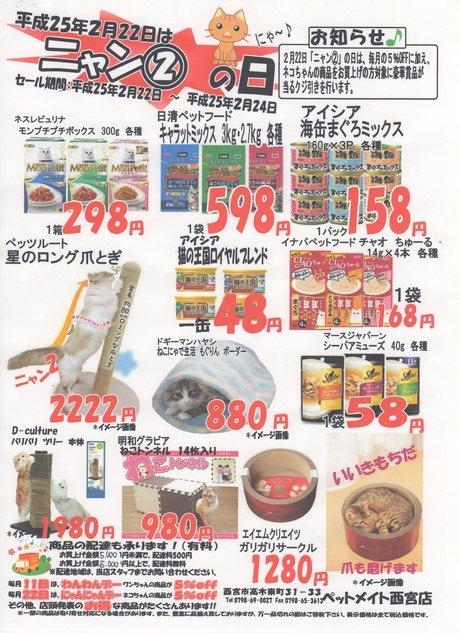 2月22日はネコちゃんの日_e0181866_18305352.jpg